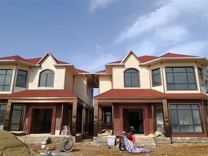 贵州省轻钢龙骨别墅建筑项目