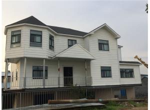 上海市轻钢龙骨别墅建筑项目